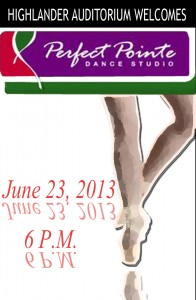 Perfect Pointe Dance 6-23-2013