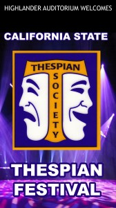 Thespian Fest.Welcome 3-27-28-29-30-2014