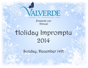Holiday Impromtu Logo 2014